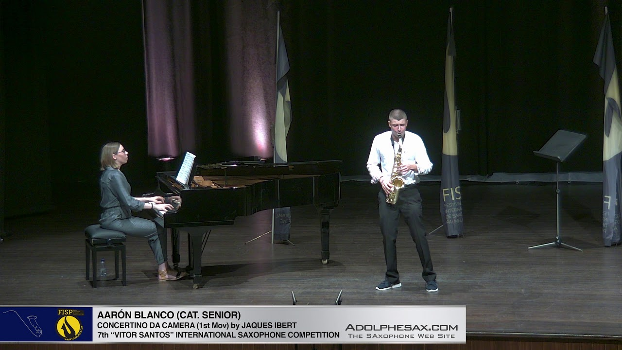 FIS Palmela 2019 - Aaron Blanco - Concertino da Camera by Jaques Ibert 1st Mov