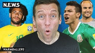 MEXICO WINS, GERMANY AND BRAZIL CRASH!