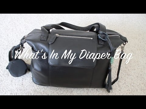 What's In My Diaper Bag (FTM of baby boy) | totallyblushing
