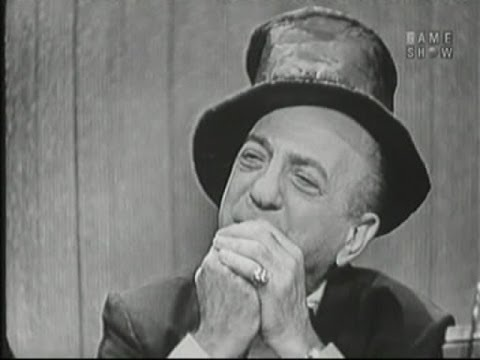 What's My Line? - Ted Lewis; Jack E. Leonard & Margaret Truman [panel] (Jul 15, 1956)
