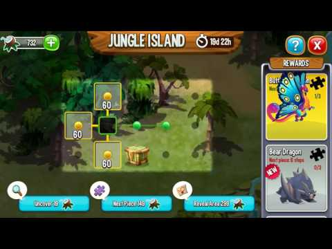 Jungle Island/Event #DragonCity *Sry no commentary*