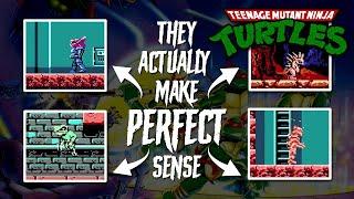Enemies in the First TMNT Game Actually Make PERFECT Sense (NES - Teenage Mutant Ninja Turtles)