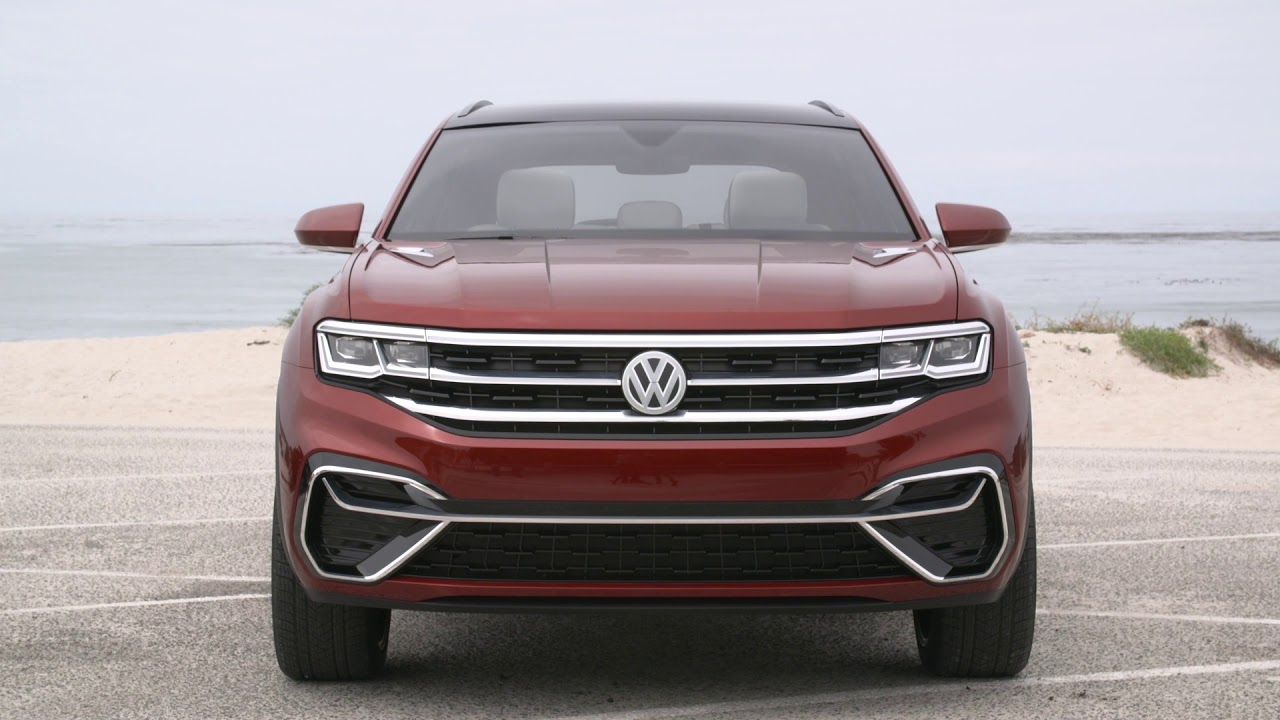 2020 Vw Atlas Review.2020 Vw Volkswagen Atlas Crosssport First Drive Test Video Review Of The Concept Car