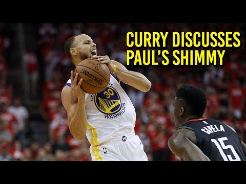NBA Playoffs: Curry discusses Paul's shimmy, looks forward to Game 6