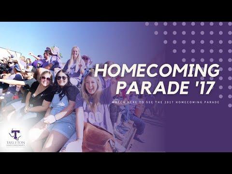 Tarleton Homecoming Parade 2017