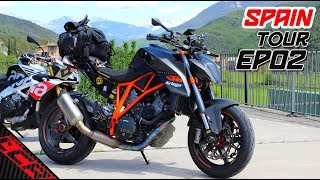 INCREDIBLE roads of the Pyrenees  | Super Duke VS Tuono Tour EP02