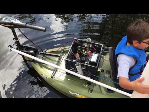 Lifetime Tamarack Kayak Trolling Motor