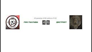 КЛЧ 2018/19. 8 Тур. ЛФК Пахлава 4:6 Дистрикт