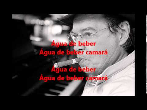 Backing Tack - Agua De Beber - Tom Jobim - 1963 - Karaoke/Lyrics