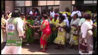ZANU PF Womens League members singing  - Takazvarwa takangodaro (Part 1)