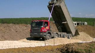 Scania P380 8x4 tipper