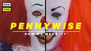 Pennywise Makeup: How We Made 'It' | NowThis Nerd