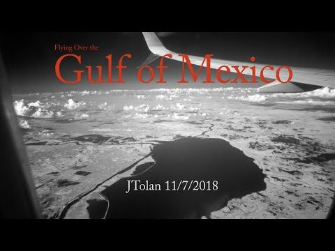 Infrared Flight over Gulf of Mexico HD1080