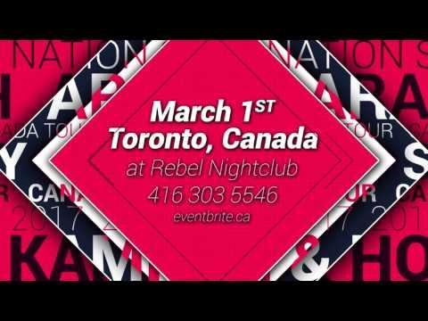 Arash,  Sasy,  K&H canada tour 2017