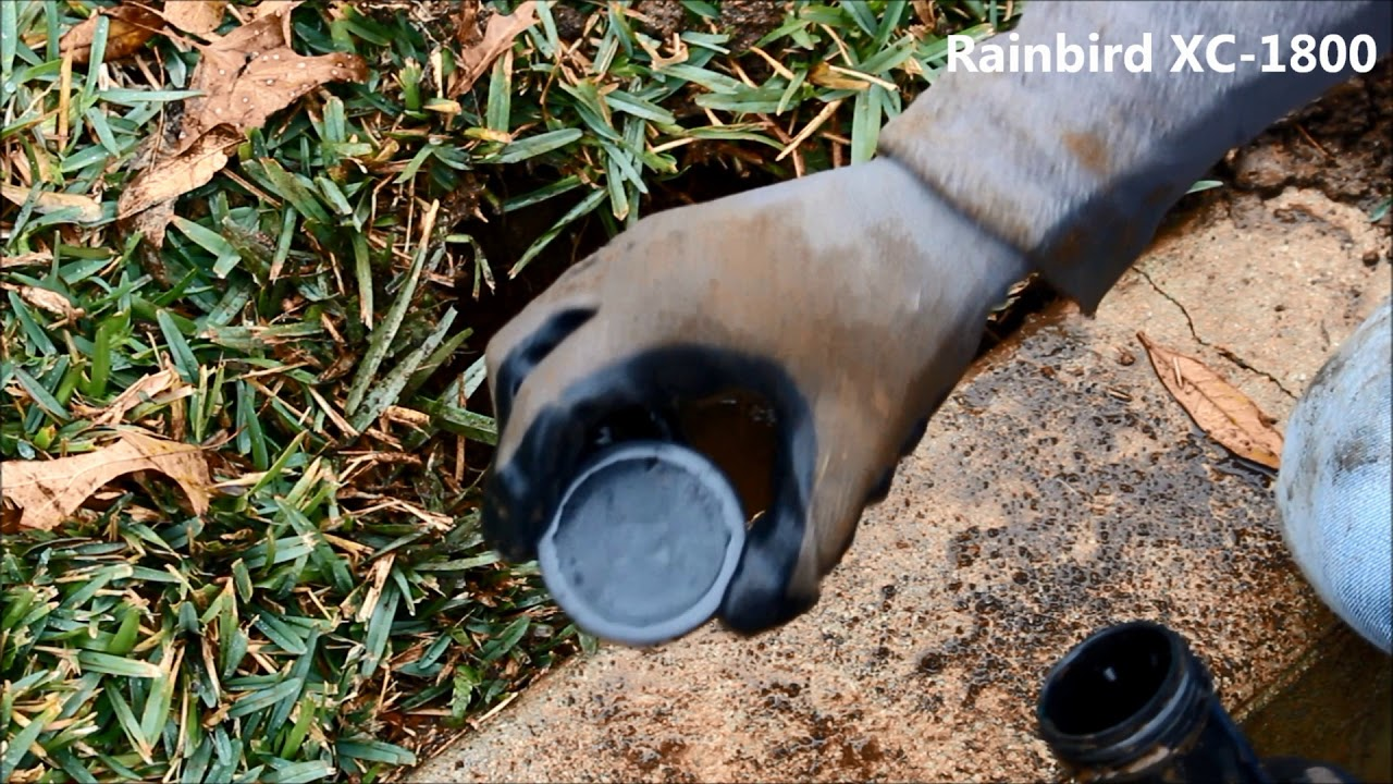 How To Cap A Sprinkler Head Youtube