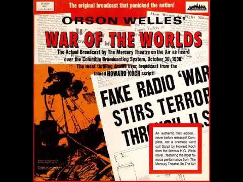 Der Krieg der Welten - H.G. Wells - Hörspiel (reupload)