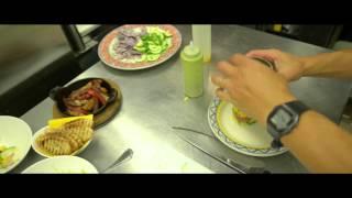 Cafe Sevilla Preparing Ahi Tuna Tartare Tower