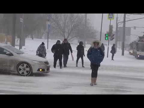 Снежный апокалипсис в Москве! Snow Apocalypse In Moscow!) 26.01.2019.