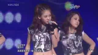 [繁中字幕] 090911 KARA Mister (KBS Music Bank)
