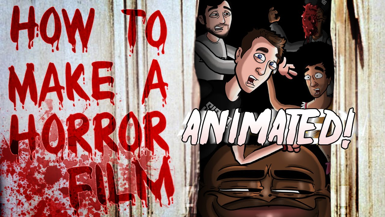 how to make a horror film animated youtube