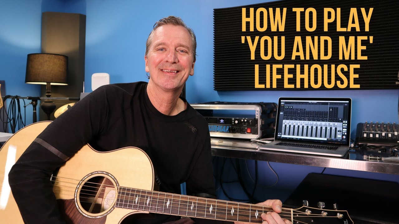 how to play you belong to me by lifehouse