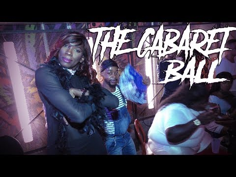 LSS at The Cabaret Ball, by Kiara Ninja.