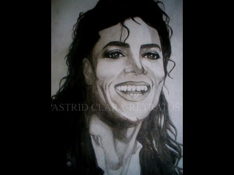 DRAW Michael Jackson -Time Lapse (HD)