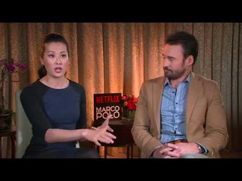 Olivia Cheng & Patrick MacManus on 'Marco Polo'
