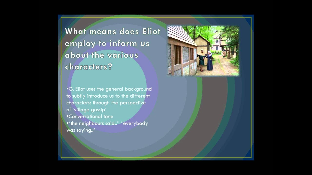 silas marner essay introduction A discussion of the silas marner themes running throughout silas marner great supplemental information for school essays and projects.