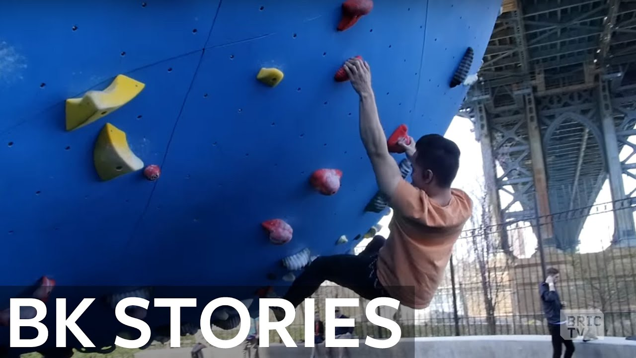 Brian Vines Boulders at Dumbo Boulders | BK Stories