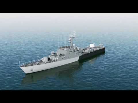 PIT-RADWAR S.A. - System Armaty Morskiej AM-35 (animacja)