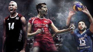 Top 50 Best Volleyball Spikes | FIVB 2017