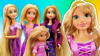Auditions For TANGLED New Movie | Disney Rapunzel Dolls