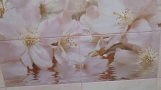 Обзор ванной 1.30 х 1.50 с панно )))