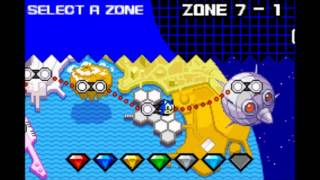"GBA Sonic Advance 2 ""All Chaos Emeralds"" in 35:48.46 By Qwerty…"