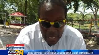APNU SUPPORTER CRITICIZES COUNCILORS ON NA MUNICIPALITY-13/10/2018