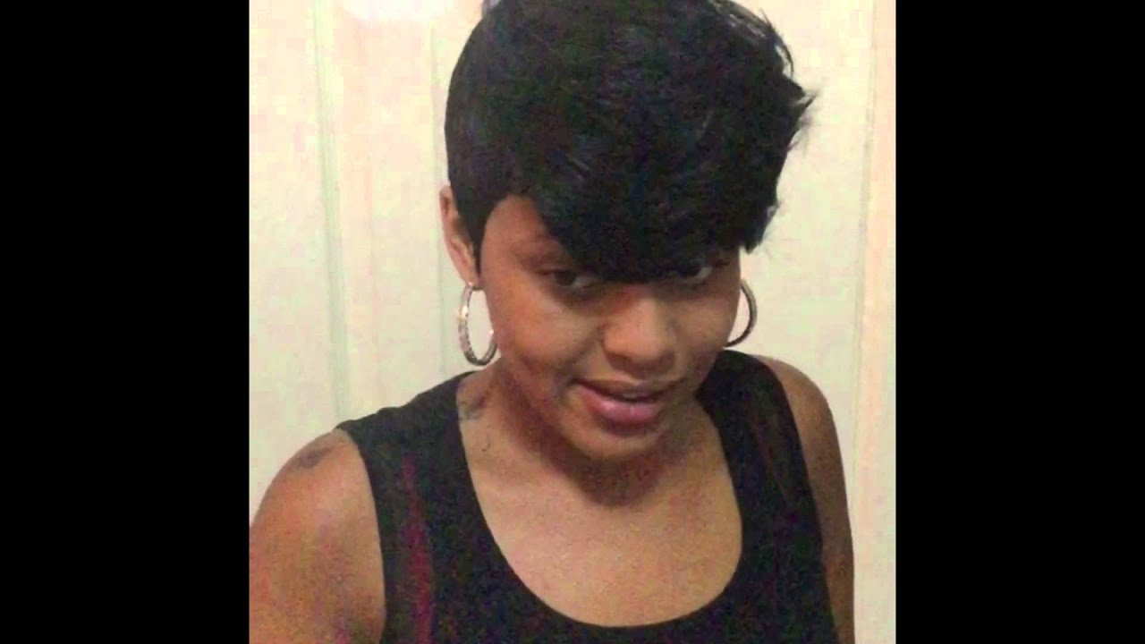 27 Piece Quick Weave Short Hairstyle 2015
