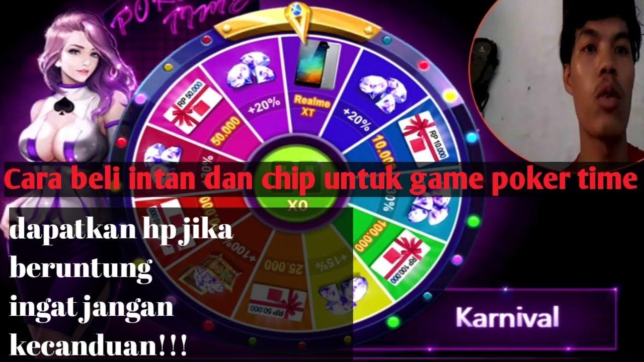 Wow Beli Intan Poker Time Malah Dapat Hadiah Hp Cara Beli Intan Dan Chip Poker Time Youtube