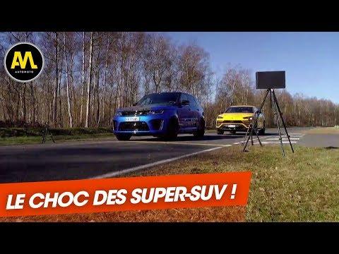Lamborghini Urus VS. Range Rover SVR : Duel XXL