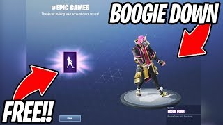 HOW TO GET THE FREE BOOGIE DOWN EMOTE!! (Fortnite Battle Royale)