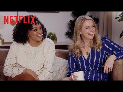 90s Teen Stars Turned TV Moms ft. Tia Mowry, Melissa Joan Hart & Jodie Sweetin   Netflix