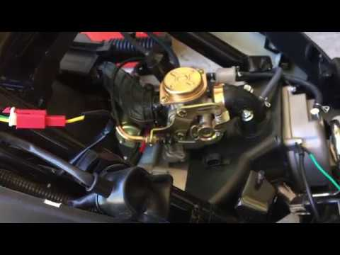 taotao 50cc scooter keeps blowing fuse fix - youtube vespa battery fuse box diagram #5