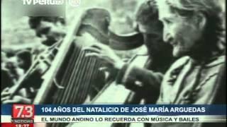 Por el 104 años del natalicio de José María Arguedas