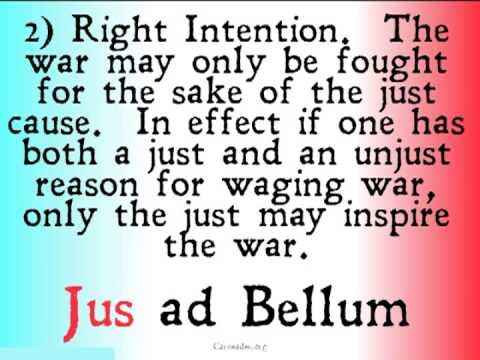 Jus ad Bellum (Just War Theory)