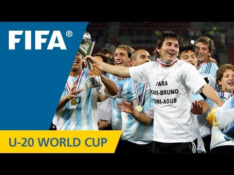 U-20 World Cup FINAL: Argentina - Nigeria, Netherlands 2005