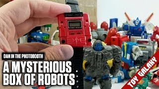 Transformers Bootlegs, Gobots, Converters, Rock Lords and a Robot Watch - Dan in the Photobooth #183