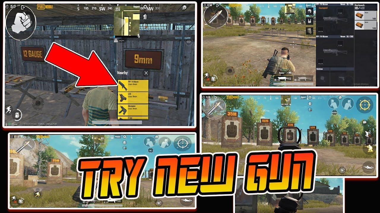 Pubg Mobile New Gun Gameplay Pp 19 Bizon Season 8 Update Leak