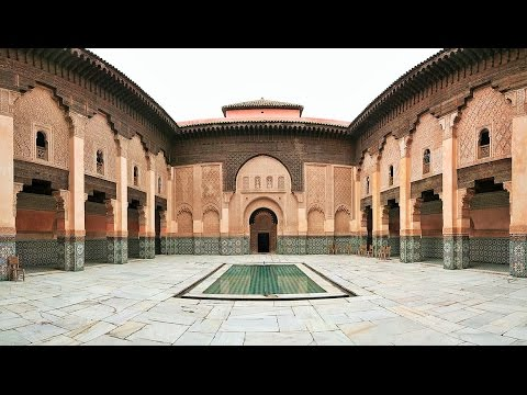 Marrakech Tourist Attractions 1: Ben Youssef Mosque Morocco Travel Guide