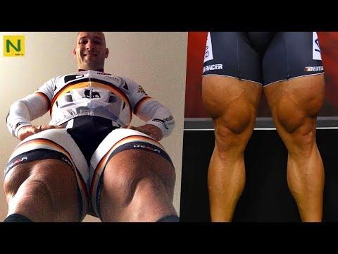 自転車選手の超ぶっとい脚の作りかた【筋トレ】
