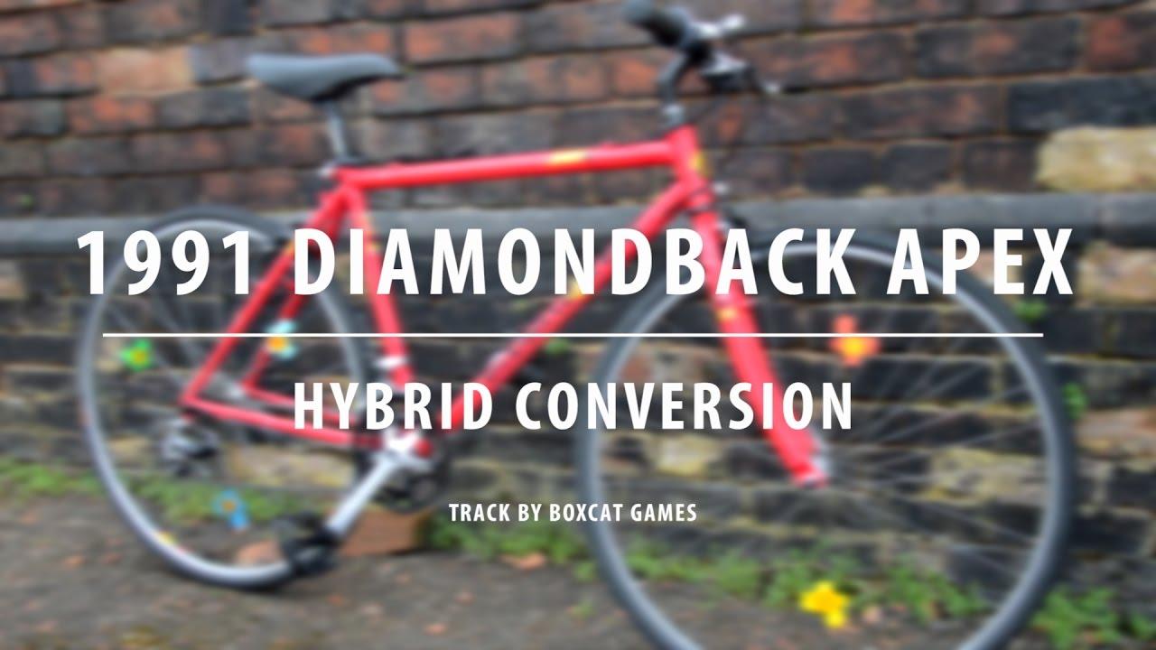 1991 DiamondBack Apex - Building A Retro Hybrid - Bicycle Build ...